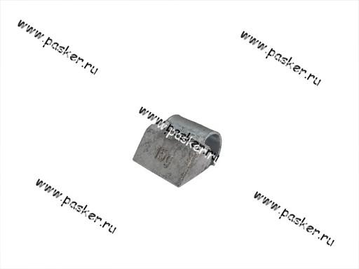 Грузик балансировочный 15гр Clipper для литого диска со скобой 0315