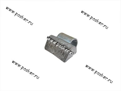 Грузик балансировочный 20гр Clipper для литого диска со скобой 0320