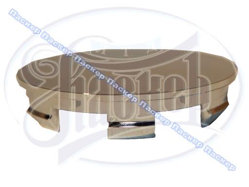 Заглушка литого диска D60 Сфера хром