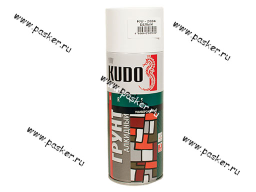 Грунтовка KUDO KU-2004 520мл белая аэрозоль