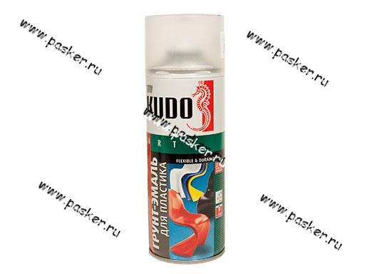 Грунтовка KUDO KU-6002 520мл для пластика черная аэрозольная