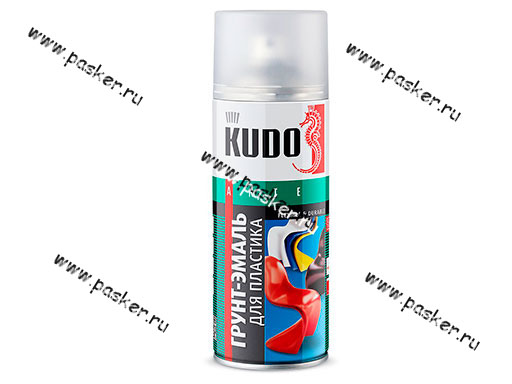 Грунтовка KUDO KU-6003 520мл для пластика белая аэрозольная
