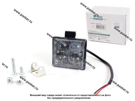 Фара светодиодная квадратная 12W 10-30V Nord YADA 4D линза дальний свет