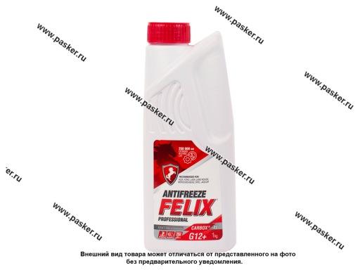 Антифриз FELIX TC-40 CARBOX G12/40  1кг красный