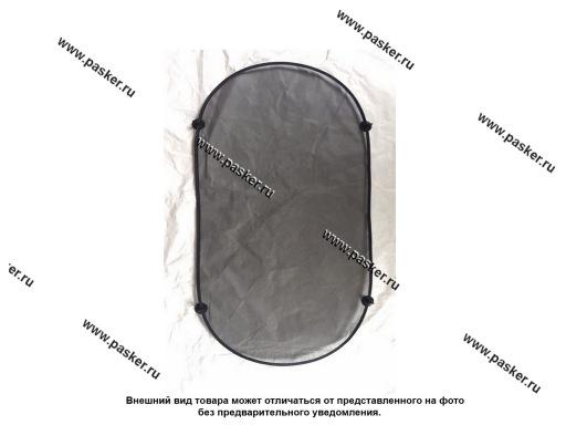 Шторка на заднее стекло 100 х 50 см на присоске OLMIO 038489