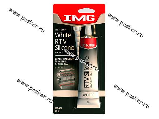 Герметик IMG MG-458 85g силиконовый белый