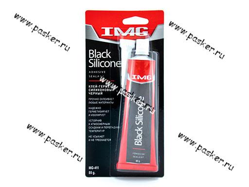 Герметик IMG MG-411 85гр силиконовый чёрный