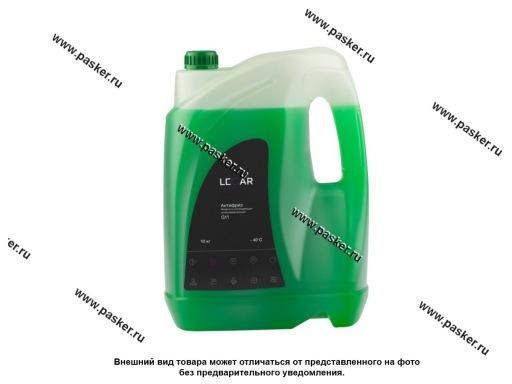 Антифриз LECAR G11 10 кг зелёный