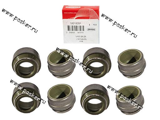 Колпачки маслосъемные 2101-099,2121-213 CORTECO