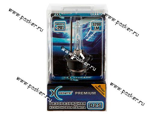 Лампа ксенон D2S Xenite Premium 6000K +20% яркости