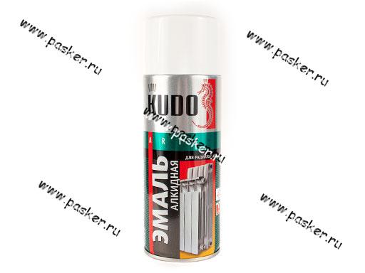 Краска для радиаторов отопления Белая KUDO KU-5101 520мл аэрозольная