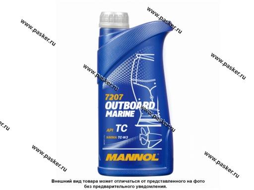 Масло Mannol 2-х тактное Outboard Marine 1л п/с