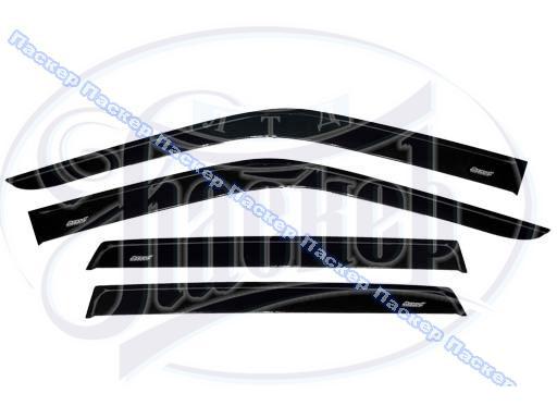 Дефлектор боковых окон Daewoo Nexia 1996-2012 накладной 4шт