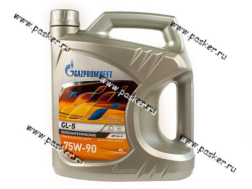 Масло Gazpromneft 75W-90 API GL-5 4л п/с