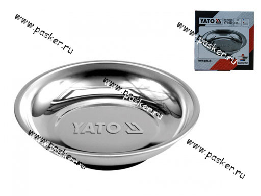 Лоток магнитный круглый D150 YATO YT-0830