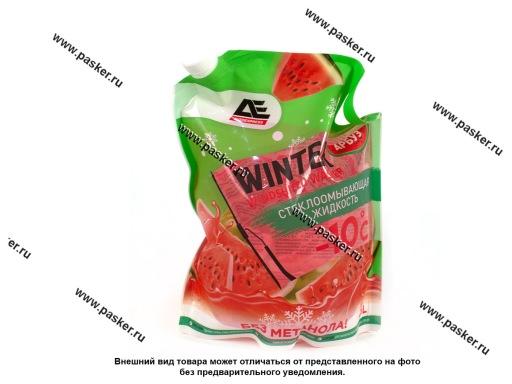 Жидкость незамерзающая AUTOEXPRESS 3л до -10 упаковка дойпак с запахом АРБУЗ