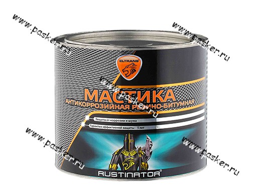Антикоррозийная Мастика ЭЛТРАНС БПМ-3 2,3 кг резинобитумная