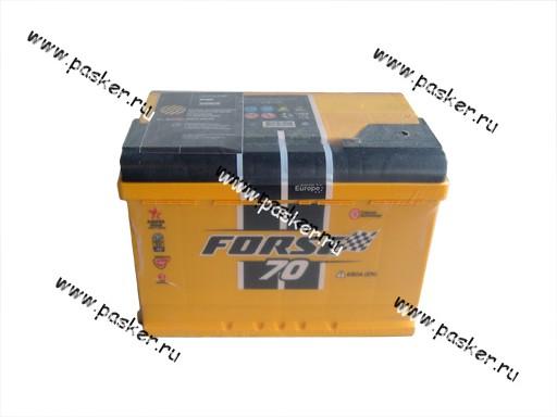 Аккумулятор FORSE 70Ач EN680 276х175х190 обр/п
