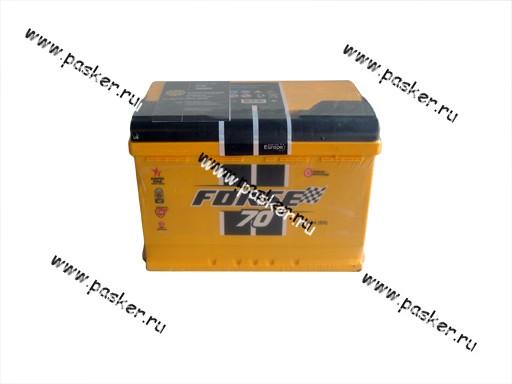 Аккумулятор FORSE 70Ач EN680 276х175х190