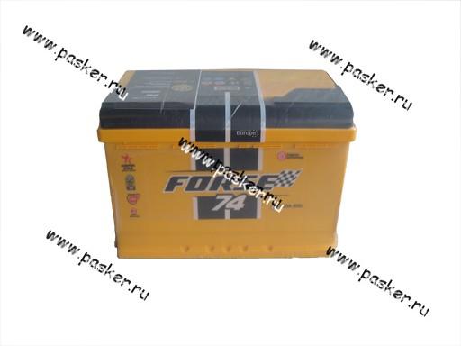 Аккумулятор FORSE 74Ач EN760/720 276х175х190