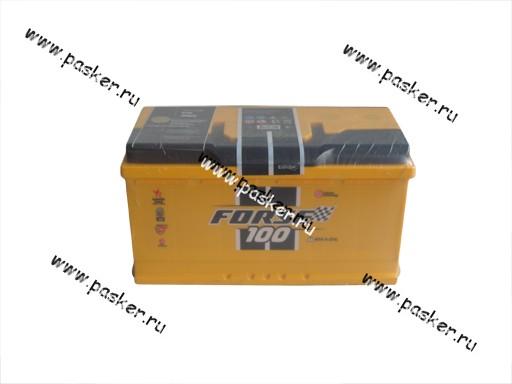 Аккумулятор FORSE 100Ач EN910/850 353х175х190 обр/п