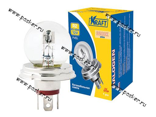 Лампа 12V 45/40W P45t KRAFT 700027