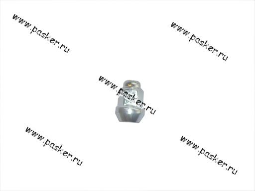 Гайка колесного болта М12х1,5х34 кл17 закрытая хром л/д