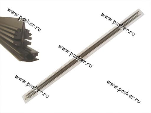 Резинка щеток стеклоочистителя ALCA профиль Елочка 2х70см