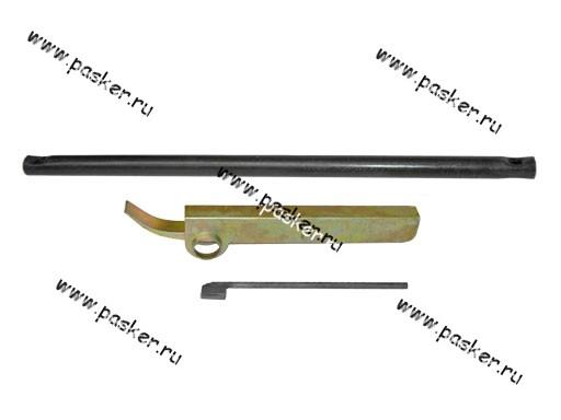 Инструмент для регулировки клапанов 2108-099 набор: рычаг,флажок, вороток АВТОСПЕЦ