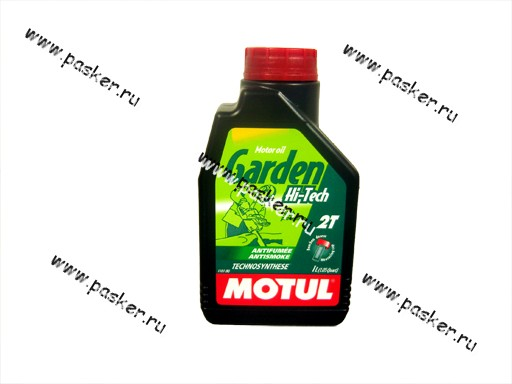 Масло Motul 2-х тактное Garden Hi-Tech API-TC 1л п/с
