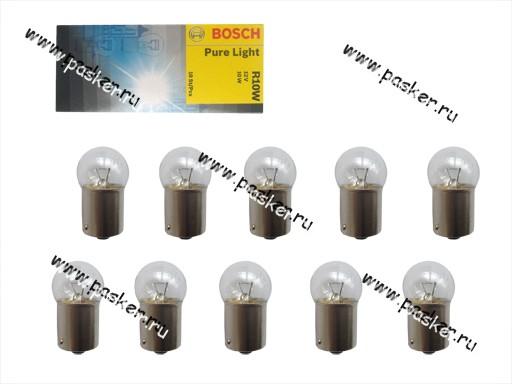 Лампа 12V10W BA15s BOSCH 203