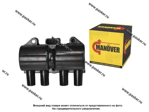 Катушка зажигания Daewoo Nexia 8кл 08-,Lanos,Aveo,Leganza MANOVER MR6253555