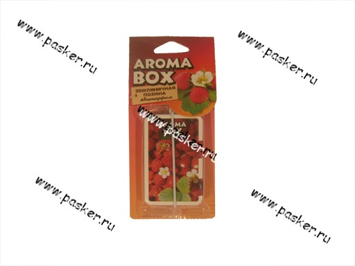 Ароматизатор Aroma Box земляничная поляна B-4