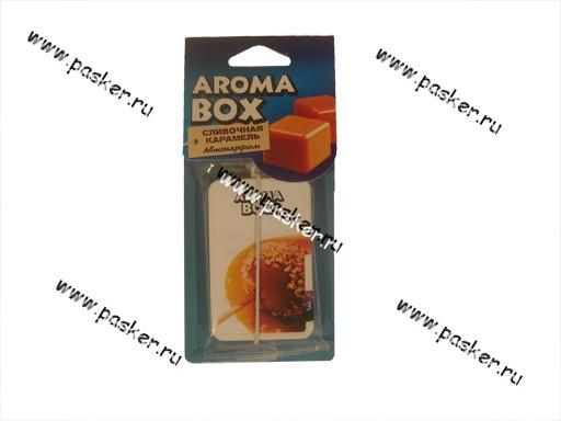 Ароматизатор Aroma Box сливочная карамель B-11