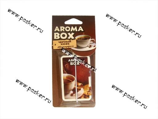 Ароматизатор Aroma Box черный кофе B-14