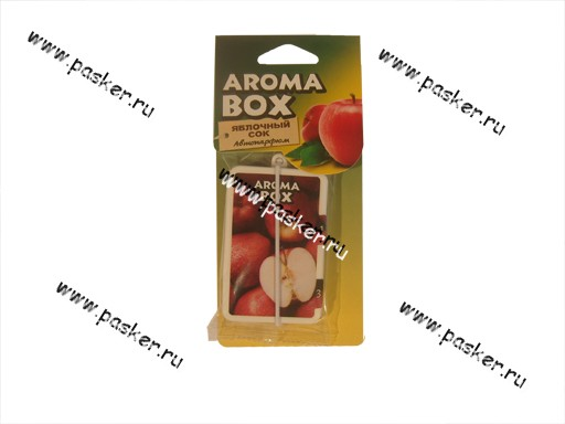 Ароматизатор Aroma Box яблочный сок B-16