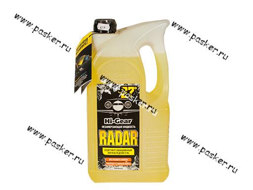 Жидкость незамерзающая HI-GEAR RADAR 5688 4л до -27