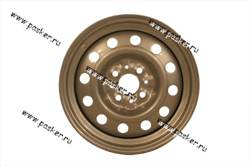 Диск колесный 2170,2190 АвтоВАЗ 14/5.5J/4*98/ЕТ35/d58.6 черный грунт+серебристое покрытие