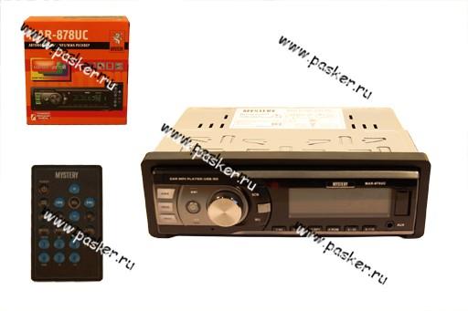 Автомагнитола MYSTERY USB/SD/MMC 4х50Вт MAR-878UC пульт многоцветная подсветка