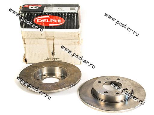 Диск тормозной Citroen C3 Berlingo Peugeot 307 Partner задний Delphi BG3653 SALE