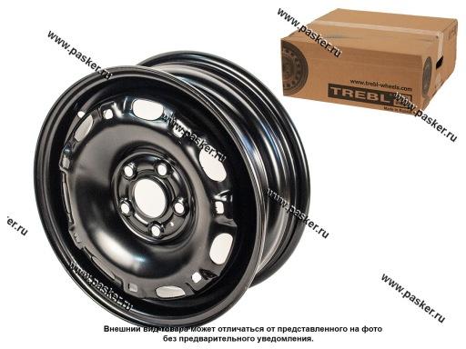 Диск колесный TREBL 14/5J/5*100/ET40/d57,1 X40028 SKODA Rapid