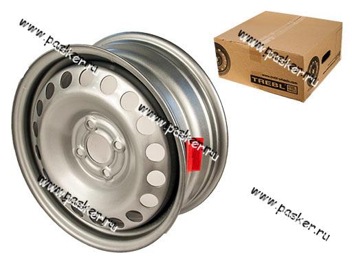 Диск колесный TREBL 15/6J/4*100/ET50/d60,1 64A50C P RENAULT CLIO III /TWINGO/LOGAN/LADA LARGUS