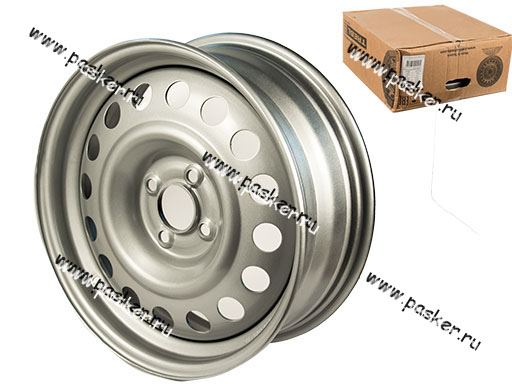 Диск колесный TREBL 16/6J/4*100/ET36/d60,1 X40032 RENAULT SANDREO-STEPWAY