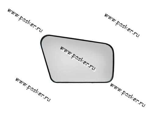 Зеркальный эл-т 2108-099 правый с рамкой
