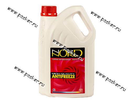 Антифриз NORD-40  3л красный