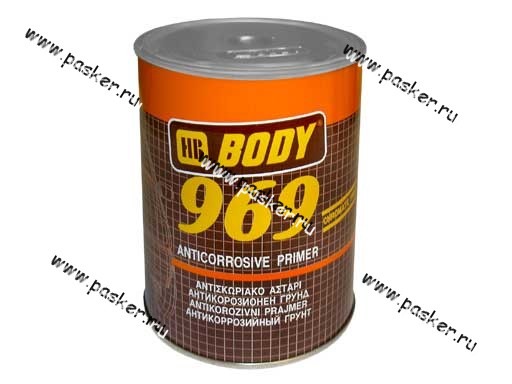Грунтовка Body 969 1л коричневая