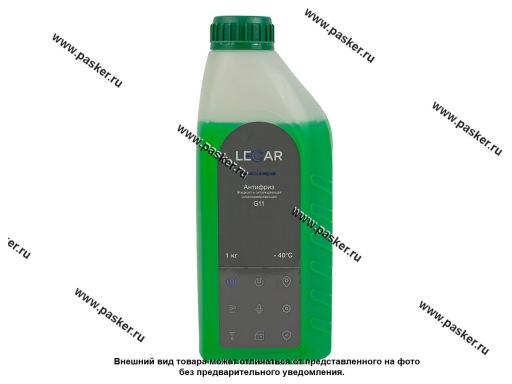 Антифриз LECAR G11 1 кг зелёный