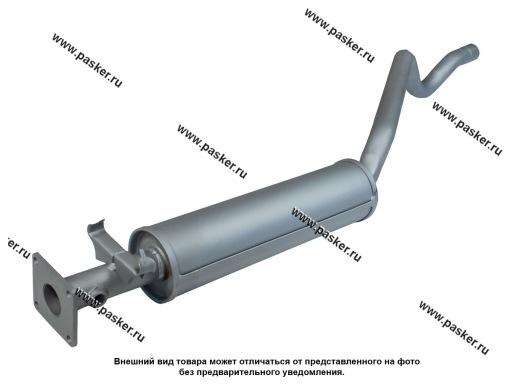 Резонатор Daewoo Nexia закатной под катализатор Евро-3