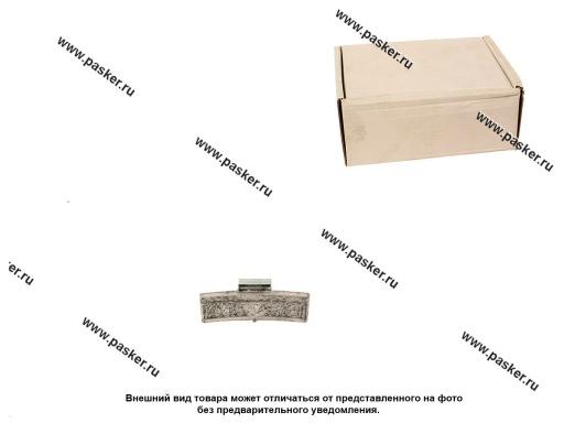 Грузик балансировочный 45гр NORM для литого диска со скобой 50шт