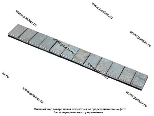 Грузик балансировочный самоклеящийся 5гр 12шт 0093Fe Clipper